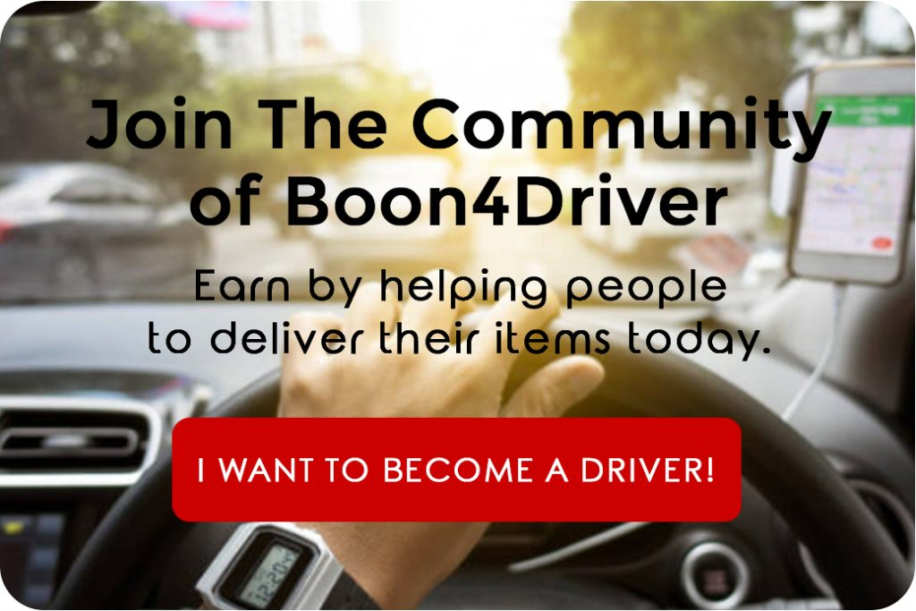 Become A Boon4Driver | www.boon4.com