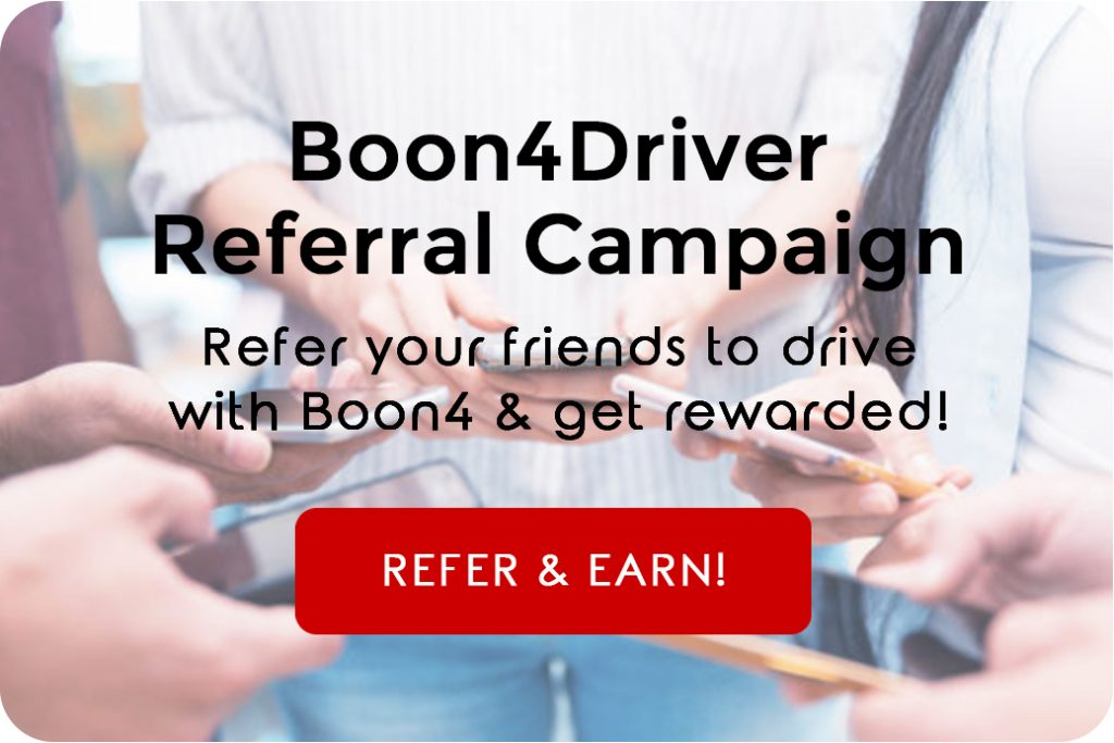 Refer A Driver And Earn | www.boon4.com